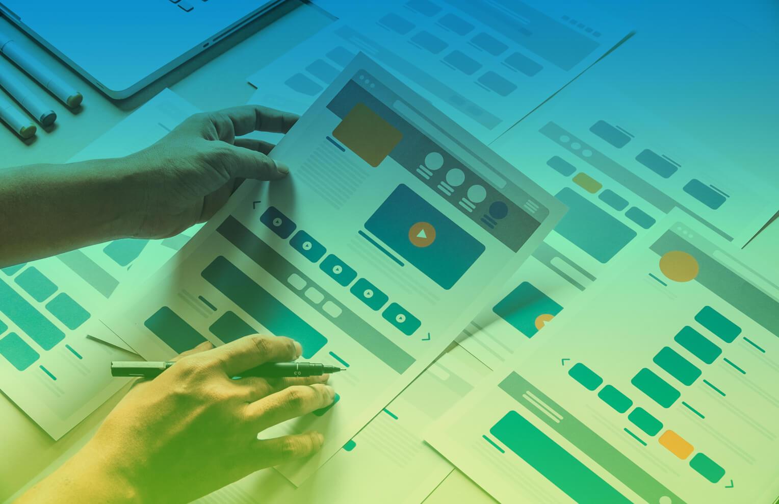 Webseitenentwicklung - Aufbau und Struktur