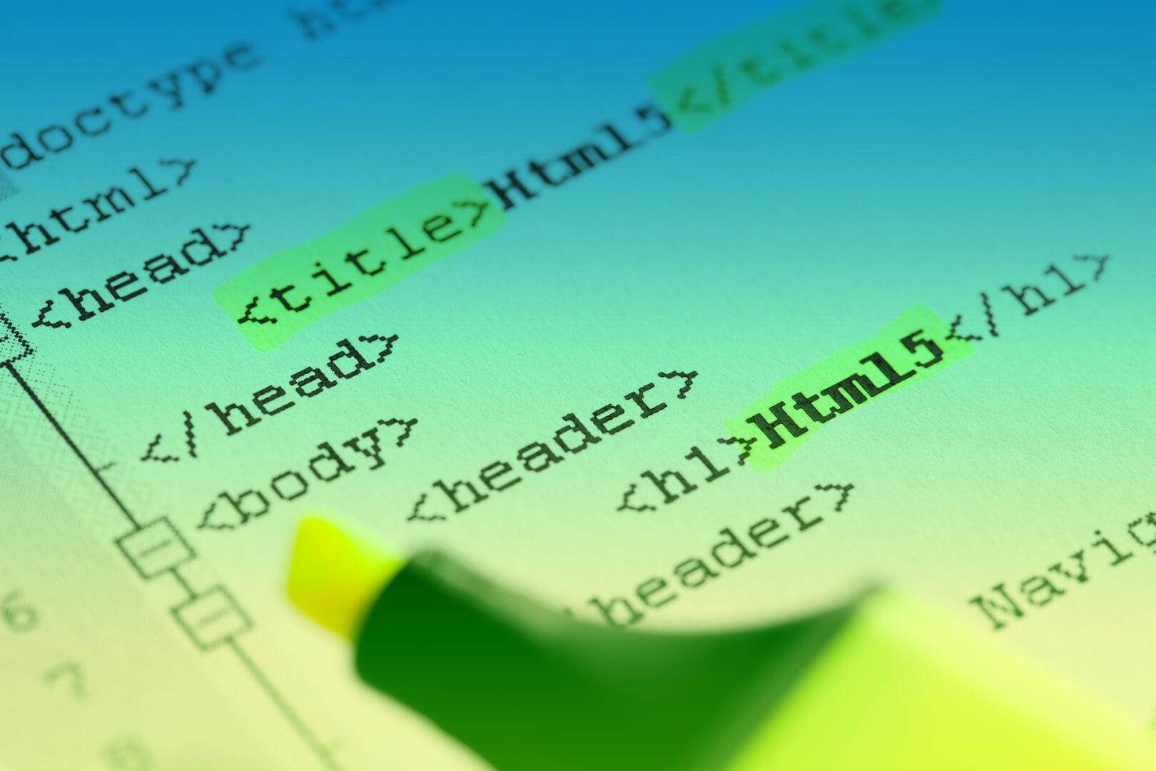 HTML Header Bodytext