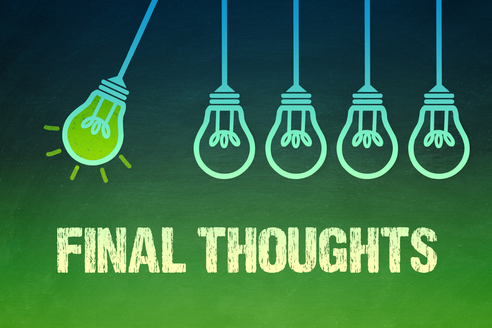 Final Thoughts - Fazit